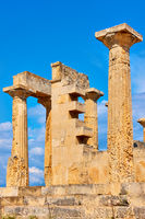 Columns of Temple of Aphaea