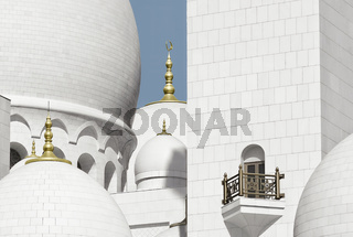 Close Up Fragments Of Sheikh Zayed Grand Mosque, Abu Dhabi, UAE