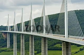 Viadukt von Millau, Millau-Creissels, Aveyron, Frankreich