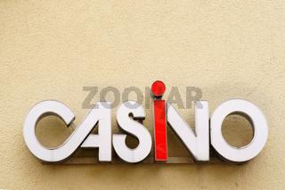 Casinoschild