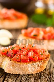 Fresh Tomato Bruschetta