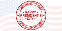 Vector illustration celebration President's day flag America red symbol national holiday