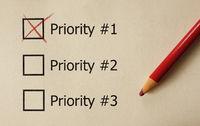 Top Priority check box
