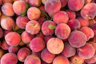 Peaches texture background.