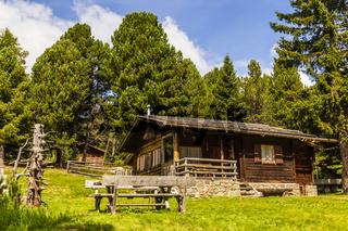 Berghütte in den Alpen, cottage in the alps