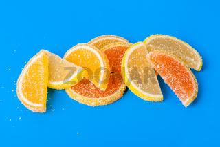 Sweet fruit lemon marmalade