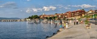 Embankment of Nessebar, Bulgaria