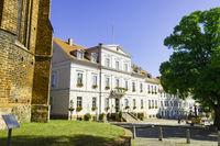 Rathaus Bad Freienwalde, Brandenburg, Deutschland