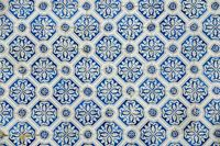 old portugal tiles background texture
