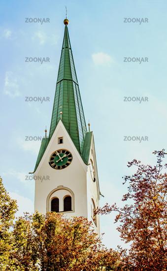Pfarrkirche St. Blasius, Weiler i. Allgaeu, Weiler-Simmerberg, Bayern
