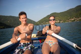 Adventure Happiness Recreational Pursuit Couple Concept