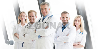 Team of medical doctors