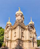 Russisch-Orthodoxe Kirche der heiligen Elisabeth auf dem Neroberg in Wiesbaden