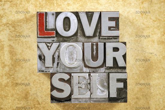 love yourself phrase