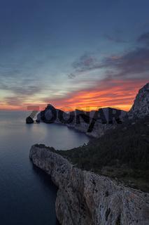 Cap de Formentor auf Mallorca