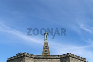 Herkules-Statue im Bergpark Wilhelmshöhe