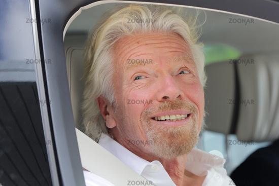 British businessman Richard Branson