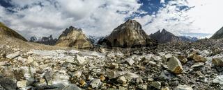 Karakoram Mountains panorama
