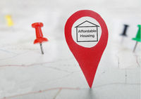 Affordable Housing locator map