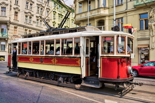 Prag, Alte Straßenbahn