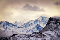 the Great Caucasus range