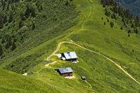 Berghütte am Mont Joly im Wandergebiet Saint-Gervais-les-Bains
