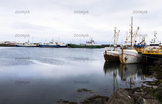 Fischereihafen auf Island