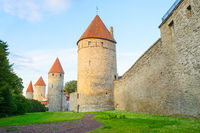 Fortress wall towers Old Town