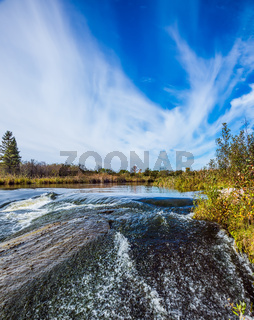 Waterfall of the Winnipeg River