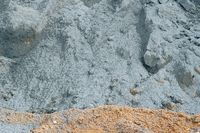 Nahaufnahme Zementhaufen