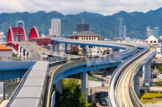 Bridge to Kobe Kansai Japan