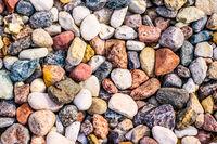 Stone pebbles background texture, landscape architecture