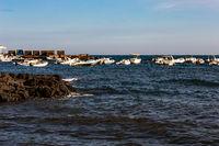 the Sicilian autumn sea