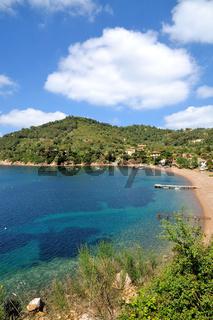 der Ort Bagnaia auf der Insel Elba,Toskana,Mittelmeer,Italien