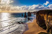 Grandiose coast of Australia