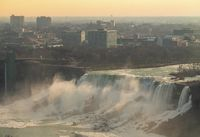 Horseshoe Wasserfall der Niagarafälle, Ontario, Canada