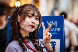 Harajuku Street Life in Tokyo Japan