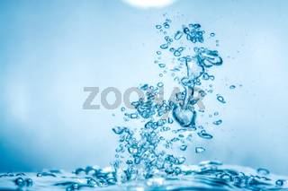 water air bubbles background