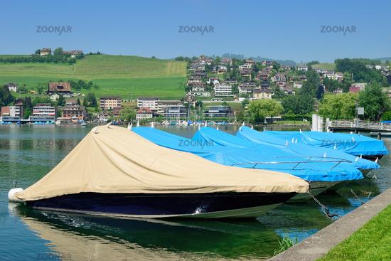 Kuessnacht (vormals Kuessnacht am Rigi),Vierwaldstaettersee,Kanton Schwyz,Schweiz