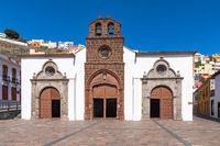 Schöne Kirche auf La Gomera,Kanarische Inseln, Spanien