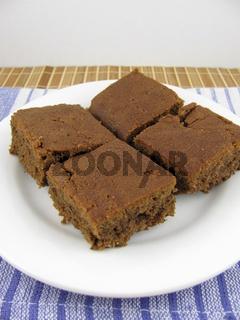 Carob Kuchenstücke