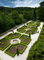 KSIAZ, POLAND - JUNE 7, 2009: The Ksiaz castle is the largest castle in the Silesia region of Poland