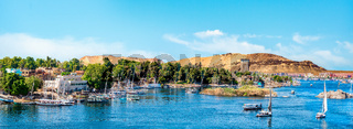 Panorama of Aswan