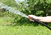 Hand with hose