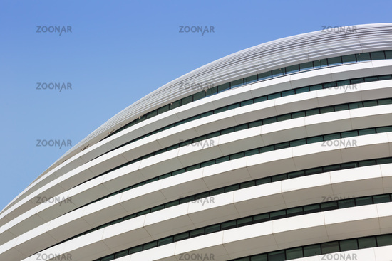 Galaxy SOHO Beijing building shopping mall copyspace copy space modern architecture in China