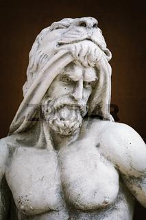 Portrait of an ancient hero