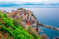 Picturesque town of Manarola