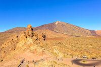 El Teide mit Roques de Garcia