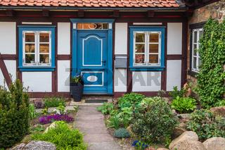 Haus mit Garten im Harz