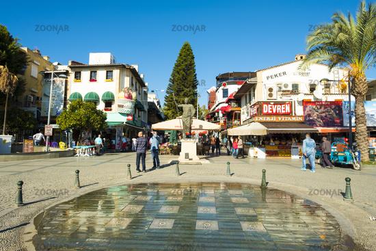 Commercial Pedestrian Restaurant Zone Antalya V